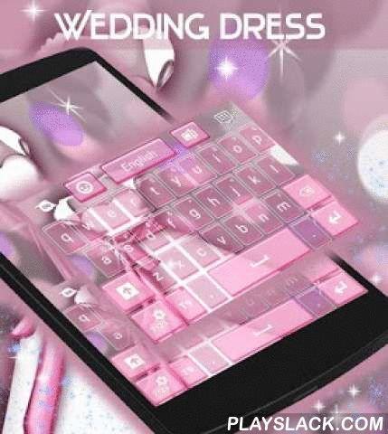 """Wedding Dress Keyboard  Android App - playslack.com ,  Elk meisje droomt over haar trouwdag en hoe mooi haar trouwjurk zal zijn, zodat onze creatieve ontwerpers kwamen met een gloednieuw thema : WEDDING DRESS TOETSENBORD ! DOWNLOAD Trouwjurk Keyboard NOW en een glimlach op je gezicht elke keer dat je je telefoon!- Voor de installatie , volg de 3 eenvoudige stappen: Openen na downloaden , drukt u op """"Instellen als Active Theme"""" en selecteer het thema van de volgende pagina !- De ongelooflijke…"""