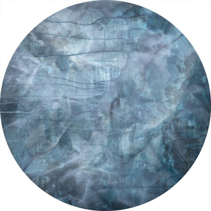 Orbit, 800mm tondo, acrylic color on polyester, © Anita Levering 2015