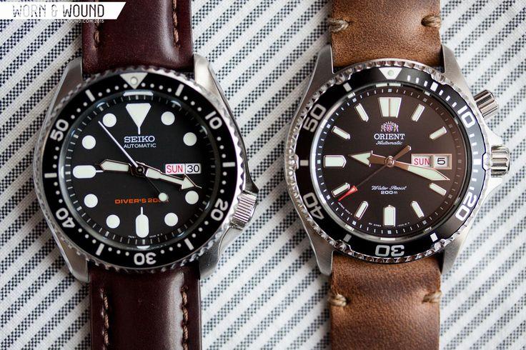 worn&wound | Side-By-Side: Seiko SKX007 + Orient Mako USA - Page 2 of 2 - worn&wound