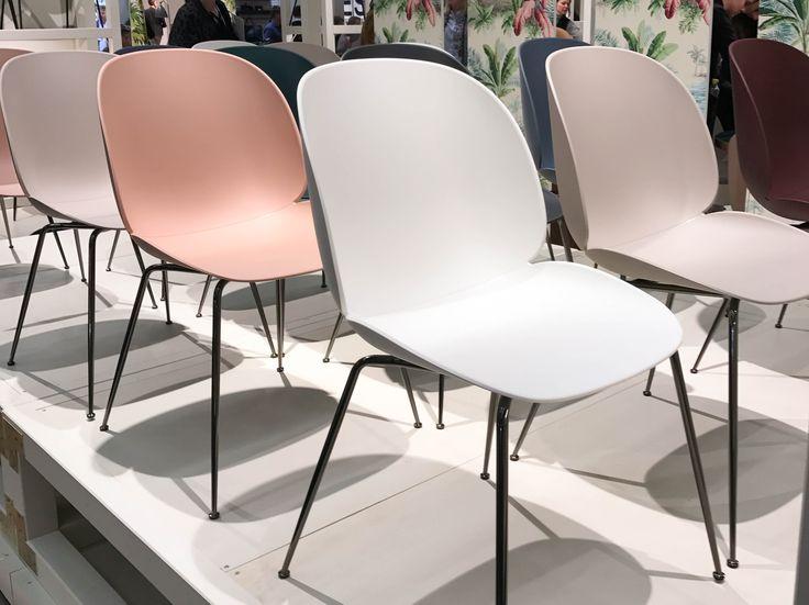 Plastic Beetle Chair by GamFratesi for Gubi