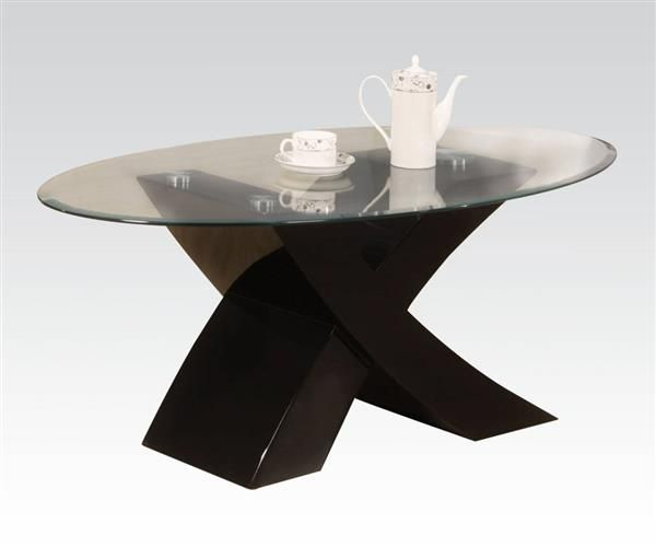 Pervis Black Wood Oval Glass Coffee Table - 25+ Best Ideas About Oval Glass Coffee Table On Pinterest Glass