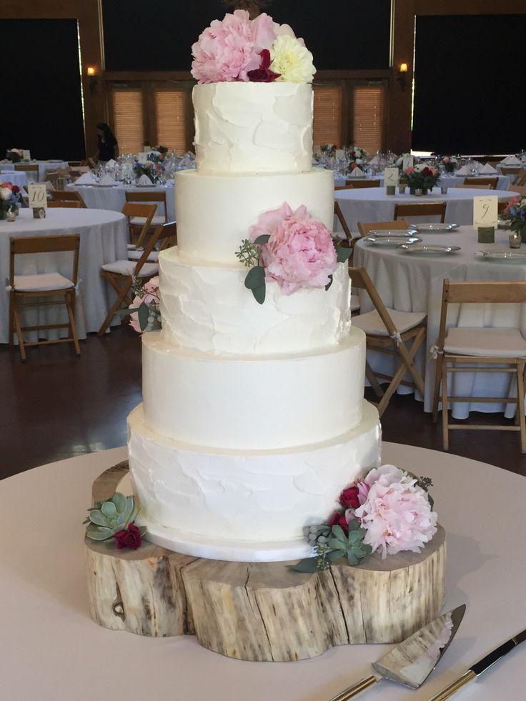 Rustic Wedding Cake Stand Wood Centerpiece Log