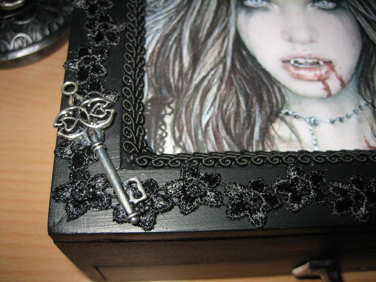 44 best Jewelry Boxes images on Pinterest Jewel box Trinket