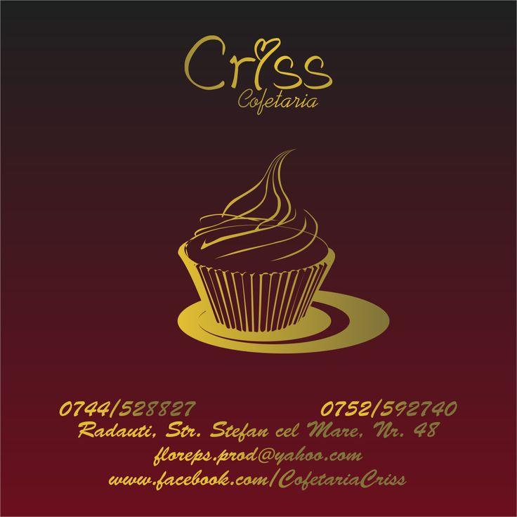 Flyers / Pliante Design - Cofetaria Criss - CoMas Advertising