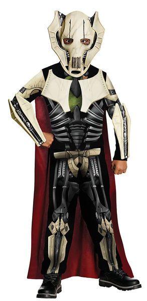 Lasten Naamiaisasu; Kenraali Grievous  Lisensoitu Star Wars Kenraali Grievous asu. Olkoon voima kanssasi. #naamiaismaailma