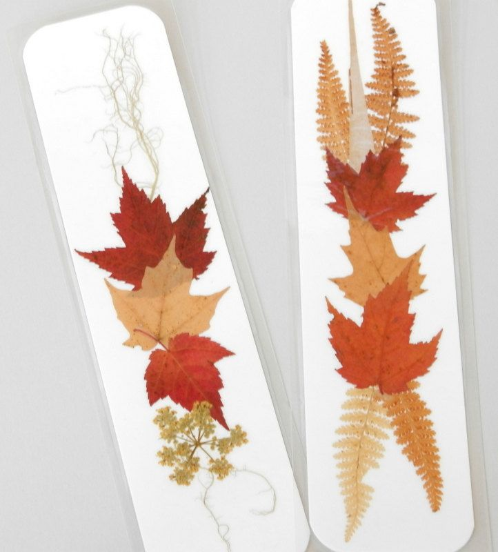 pressed flower bookmarks - Google Search
