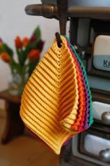 crochet dishcloth.