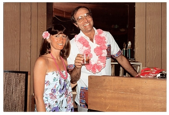 Len Goodman with second wife Lesley