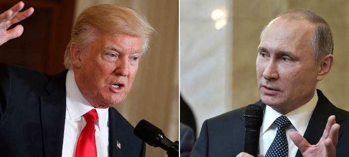 Tην Παρασκευή στο Αμβούργο το πρώτο τετ α τετ Τραμπ - Πούτιν: Οι πρόεδροι της Ρωσίας Βλαντίμιρ Πούτιν και των ΗΠΑ Ντόναλντ Τραμπ θα…