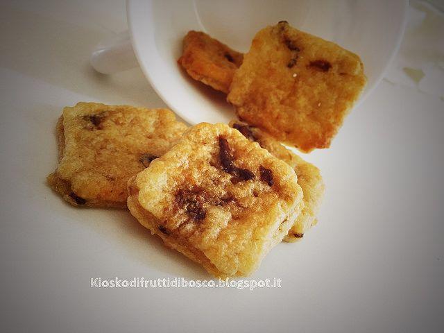 Kiosko di frutti di bosco: Biscotti al formaggio e funghi porcini