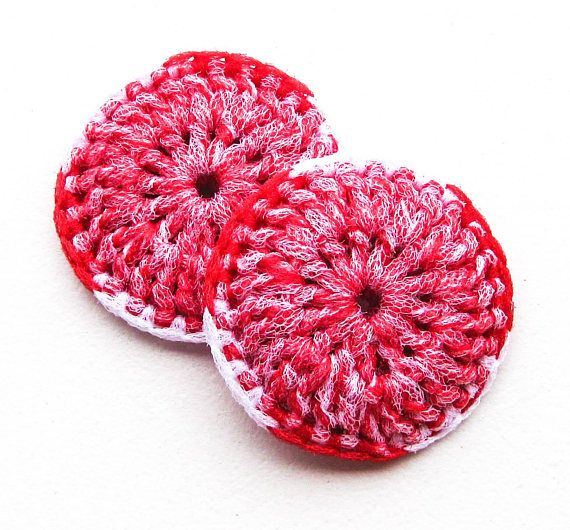 Heavy Duty Nylon Pot Scrubber  Set of 2 through 8  Crocheted