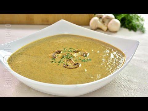 Supa crema de ciuperci - JamilaCuisine - YouTube