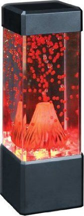 nature 39 s fire volcano lamp by fascinations lower. Black Bedroom Furniture Sets. Home Design Ideas