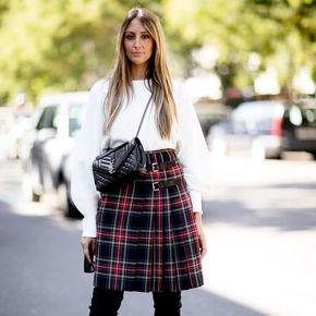 Una tendencia que recuperemos en 2018: los cuadros tartán ya sea en pantalones o en falda como si fuéramos escocesas! #trendencias #streetstyle #moda #fashion #ootd #wiw #wiwt #style #lookoftheday #trends #tendencias #estilismo #falda #streetsyle