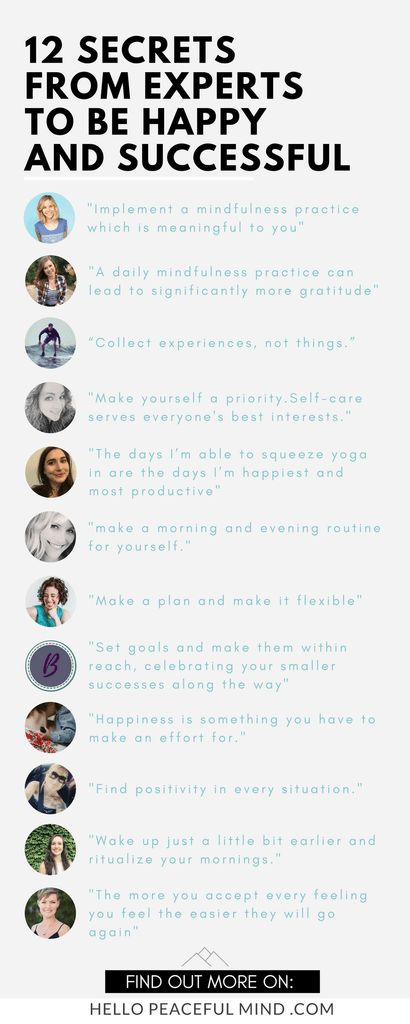 Find the best tips to live a happy and successful life on www.HelloPeacefulMind.com
