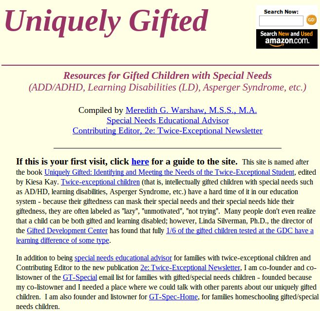 giftedness essay