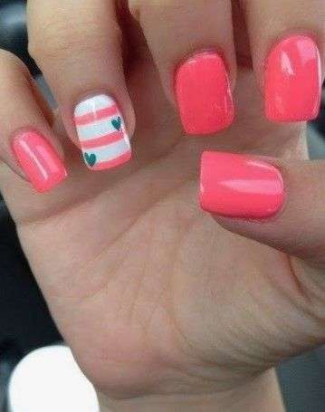 25 Most Cute and Trendy Acrylic Summer Nails Art 2019