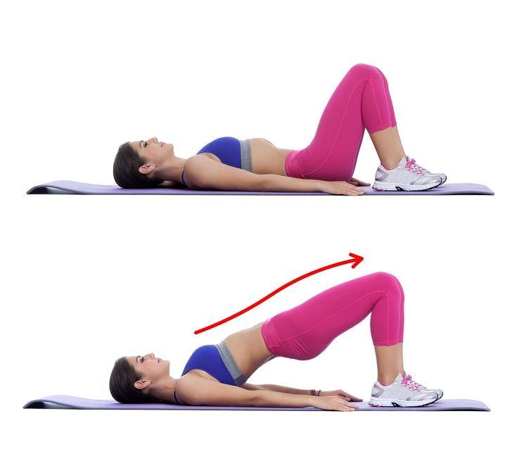 Простые упражнения для похудения ляшек