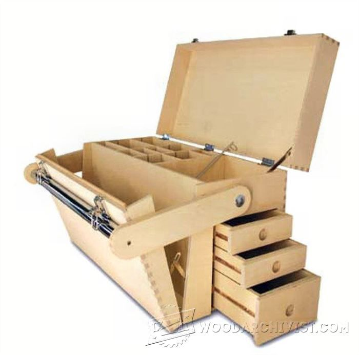 # 385 Planes de caja de herramientas de madera contrachapada