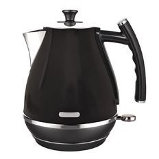 Living & Co Vintage Kettle 1.7L Matte Black