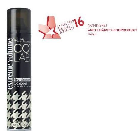 We won! Best Hairstyling Product for COLAB at The Danish Beauty Awards