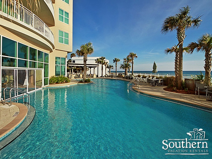 """Southern offers luxurious beachfront condos and homes in #PanamaCityBeach Florida. Pin for your chance to win a sweet Southern stay with them today!"""""""
