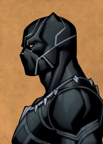 Marvel Black Panther metal poster - PosterPlate posters made out of metal