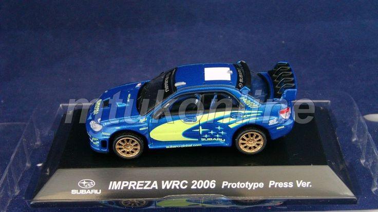 CM S RALLY CAR COLLECTION | SS10 | SUBARU IMPREZA WRC 2006 PRESENTATION | 1/64