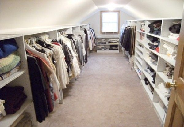 attic closet how cool                                                                                                                                                      More