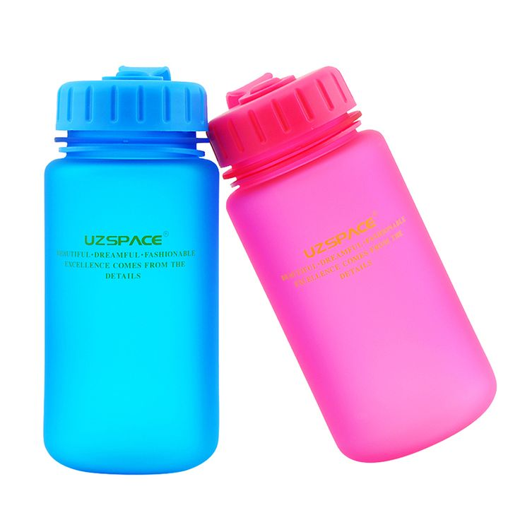 2016 Limited Real Water Bottle Protein Shaker Uzspace Plastic Leak Proof Teacup Bring Cover Cup 350 Ml My Water Drink Bottle