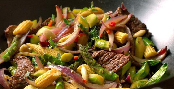 Seks oppskrifter på wok