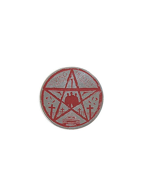 Hot Topic : Supernatural Pentagram Enamel Pin