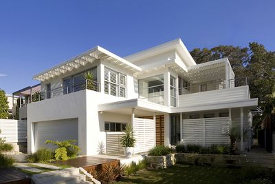 Coastal Style: 1950's Inspired Beach House