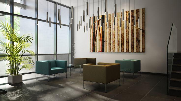 Office - Szigorú rendezési elv, precíz design
