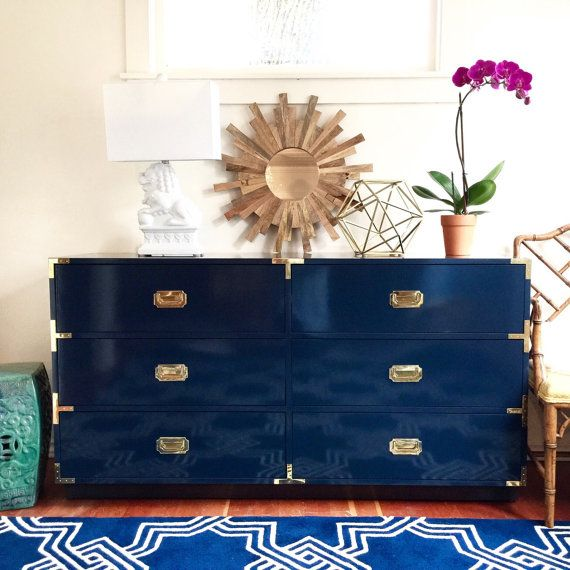 Brand New Custom Built Made to Order Campaign Chest Any color Any size Military Chest Campaign dresser Nightstand Stained
