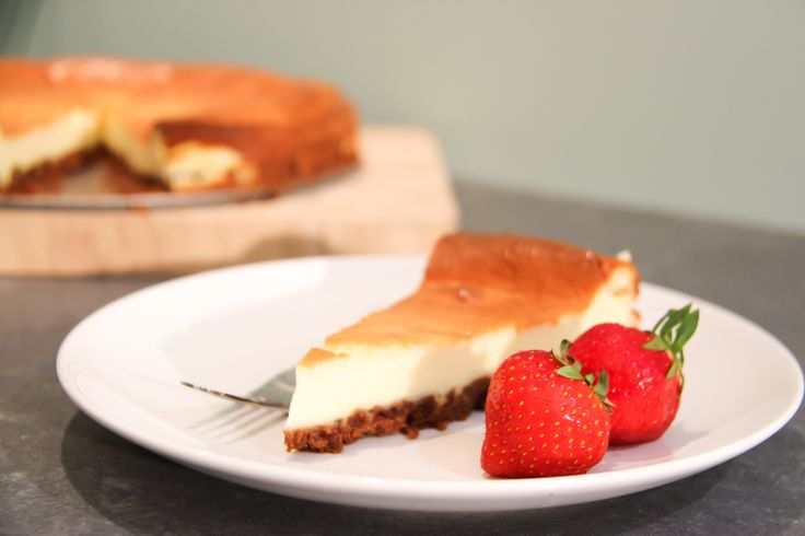 Overheerlijk zoete cheesecake van monchou en bastogne bodem