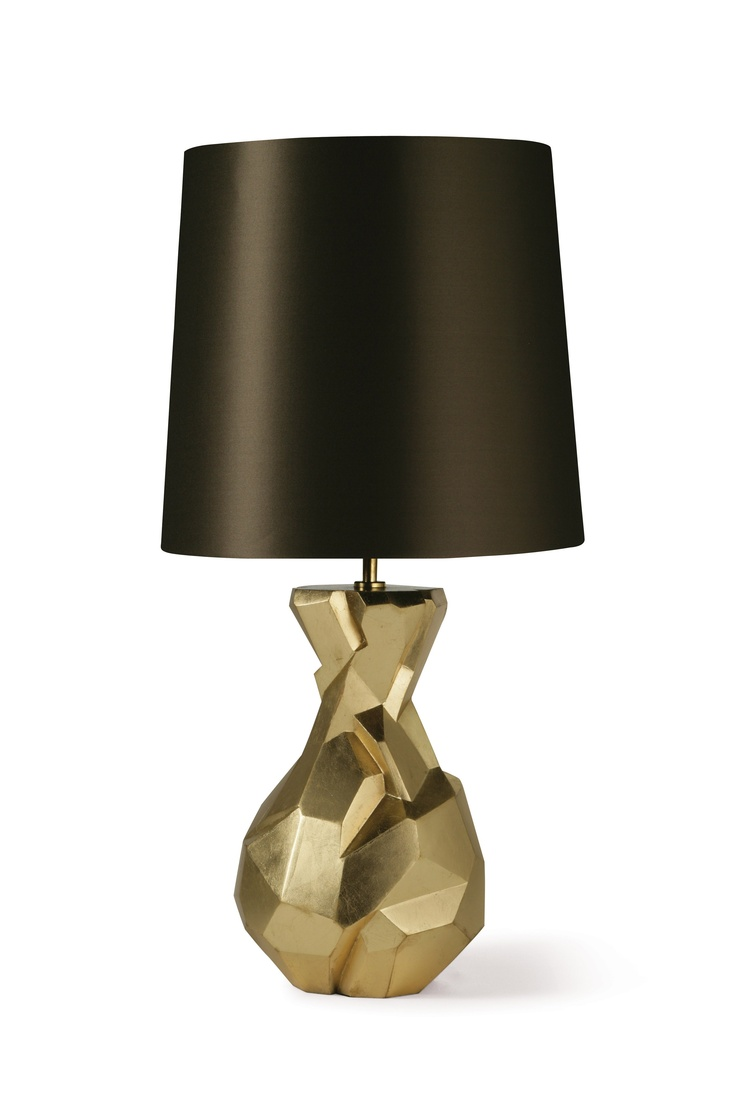 Luxe Gold Lamp, Sharing Designer Home Decor Inspirations