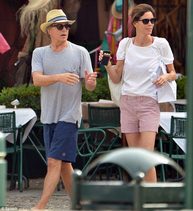 Don #Jonson e Will #Arnett #portofino #celebrities #shopping #relax #love #holiday