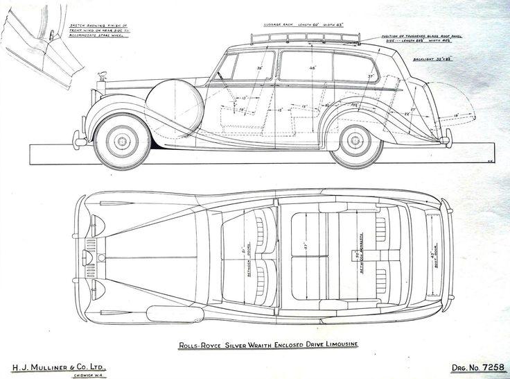 Enclosed-drive Limousine by H.J. Mulliner (design 7258