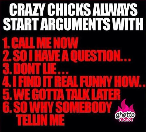 Crazy chicks be like