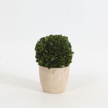 """Boxwood Ball Artificial Topiary 6"""""""""""