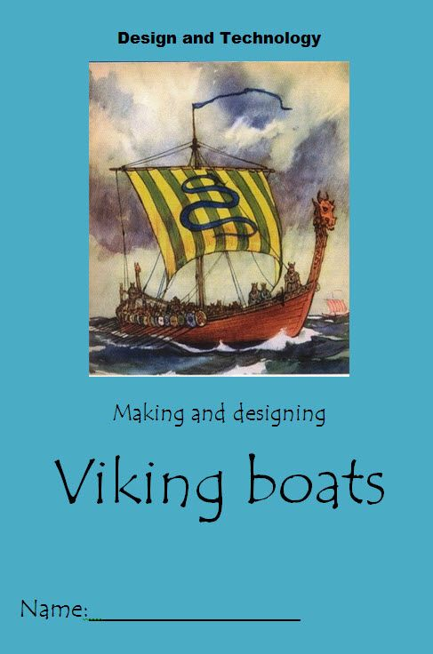 Viking boat booklet- A booklet to aid pupils in designing and making a Viking longboat.