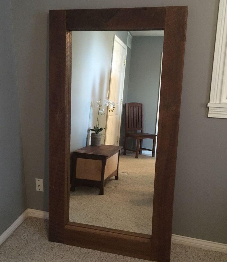 Best 25 Rustic Floor Mirrors Ideas On Pinterest Rustic