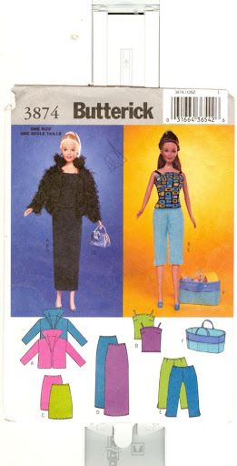 Free Copy of Pattern - Butterick 3874