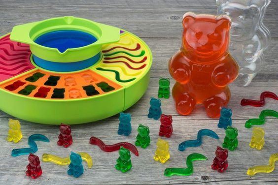 Homemade Gummy & Fruit Snack Recipe I got the fabulous Gummy Candy Maker that comes with all the non-food items to make gummy bears, worms and even a huge gummy bear at home. The instruction booklet came with a few recipes for gummys and I found one similar for fruit snacks online. We made both, …