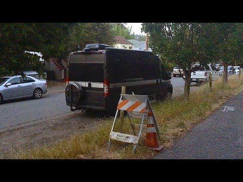 A Week Stealth Camping In Our Tiny Home The San Francisco Bay Area Of California Answer Questions About Driving Dodge Promaster Conversion Van