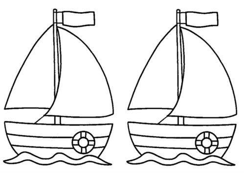 - voici le petit bateau sur l'eau de illona 2 ans, réalisé avec une assiette en carton coupé en forme de vague , peinture au rouleau pour l'eau et avec des bouchons pour le bateau.... - fiche coloriage bateau x2 trouvé sur le net en téléchargement ici...