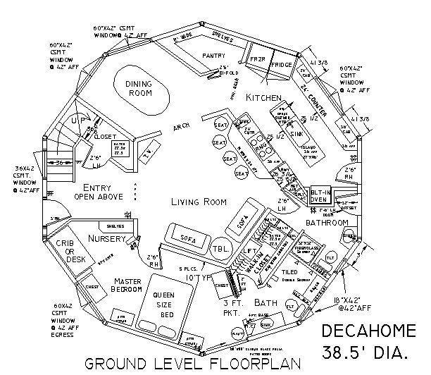 Layouts For Dome Homes Plans: 33 Best Images About Dome Home Love On Pinterest