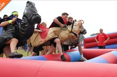 #inflatable #horseracing #partyideas #sharkyandgeorge