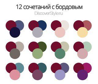бордовый цвет с чем сочетать: 19 тыс изображений найдено в Яндекс.Картинках